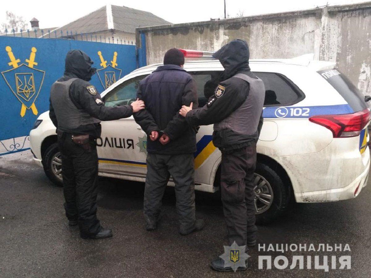 В Херсонской области совершено нападение на полицейского