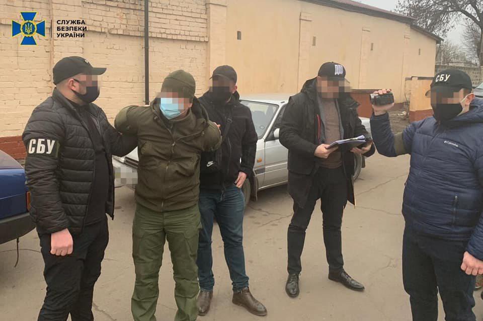 Подробиці затримання офіцера Нацгвардії у Херсоні