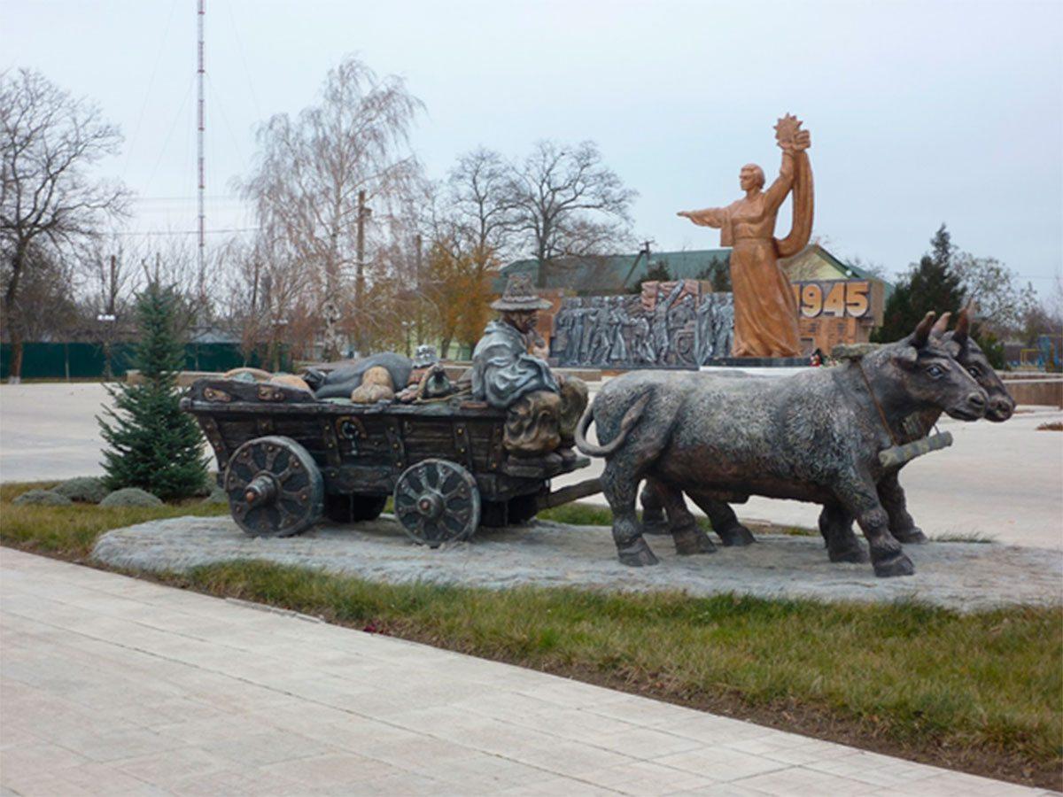 На Херсонщине увековечивают возы