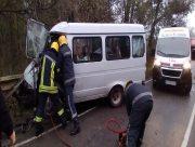 Девять энергетиков пострадали в аварии на Херсонщине