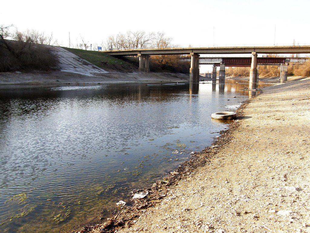 Завершили ремонт двух  мостопереходов на Херсонщине
