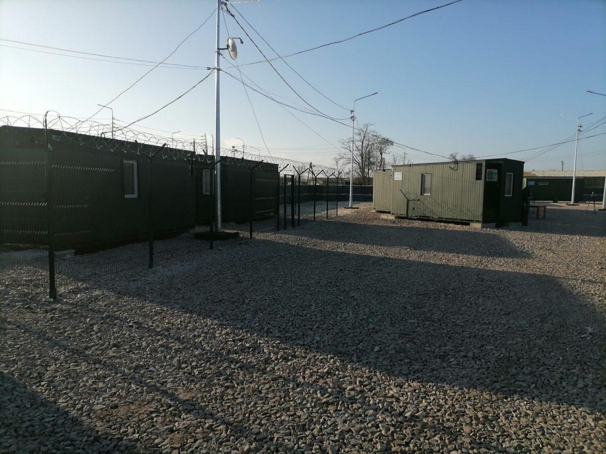 На границе с Крымом построили новый военный городок