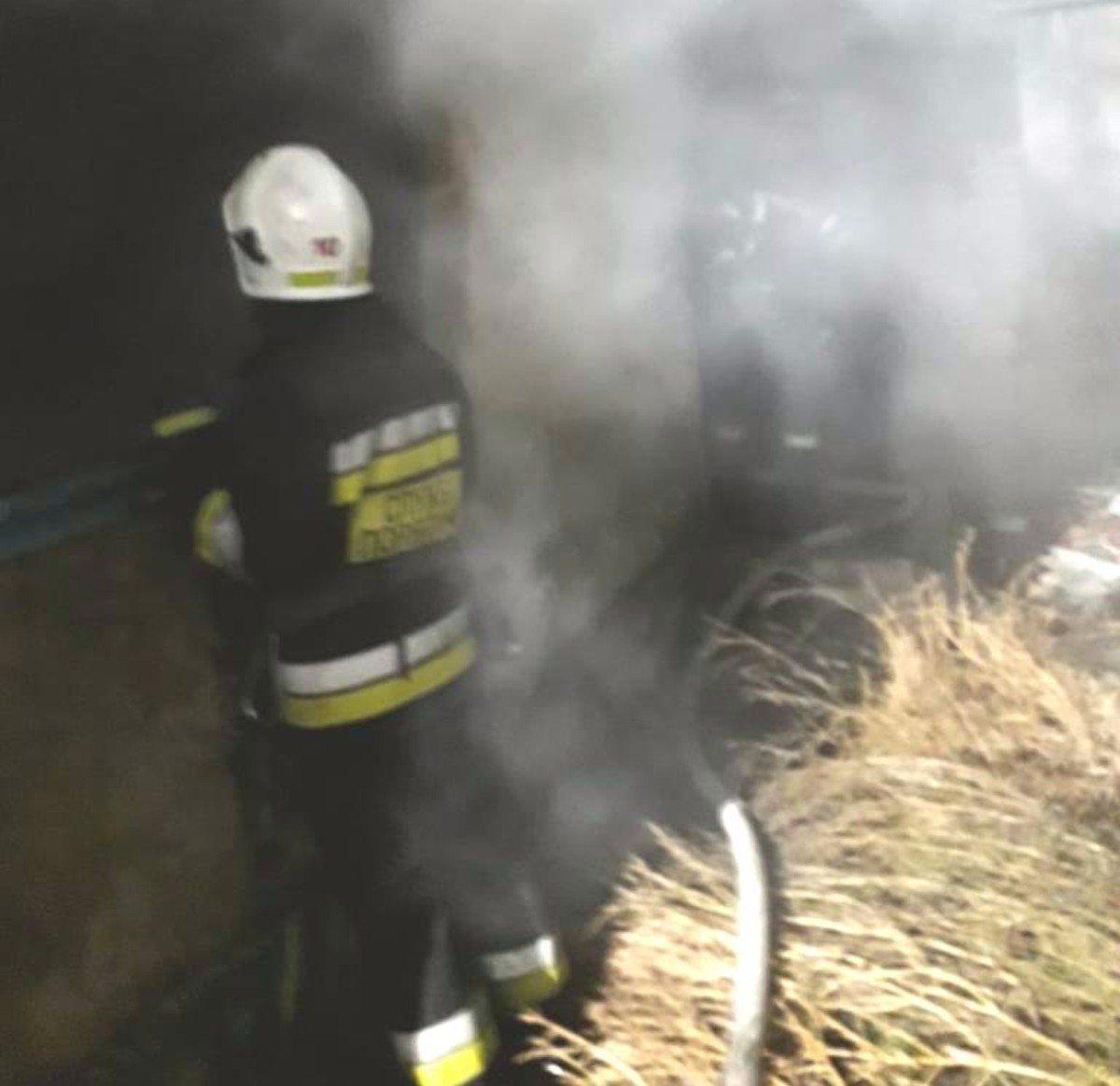 Херсонские спасатели потушили пожар заброшенного дома