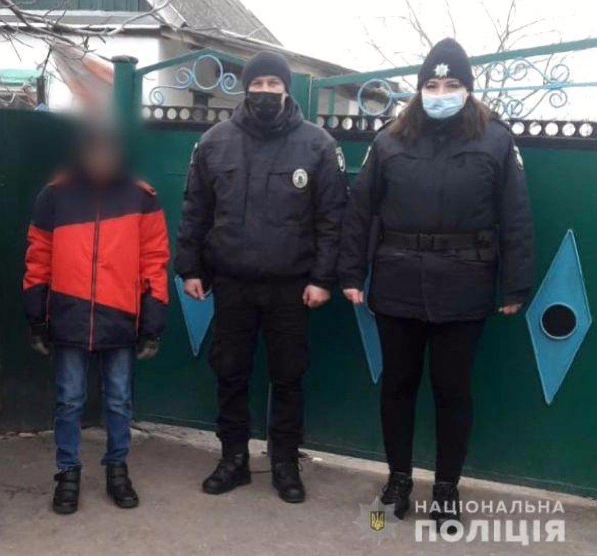 Полицейские Херсонщины за сутки вернули родителям двух пропавших детей