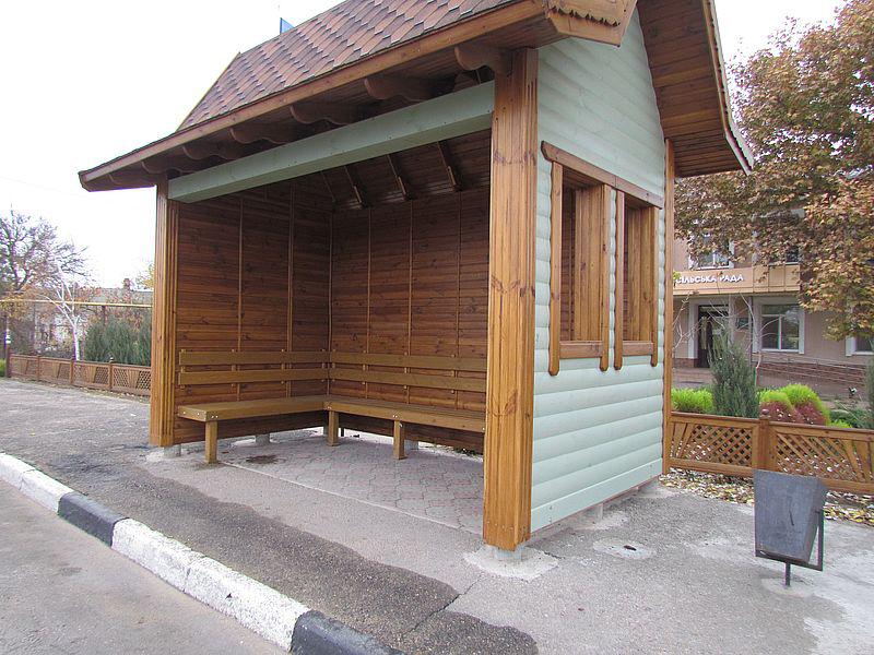 На курорті в Херсонській області встановлено 26 нових автобусних зупинок