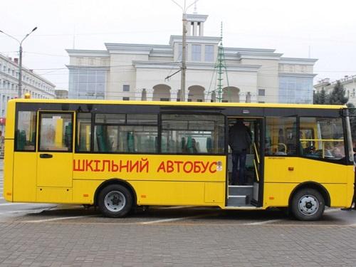 Райони та ОТГ Херсонської області отримали ще 8 шкільних автобусів