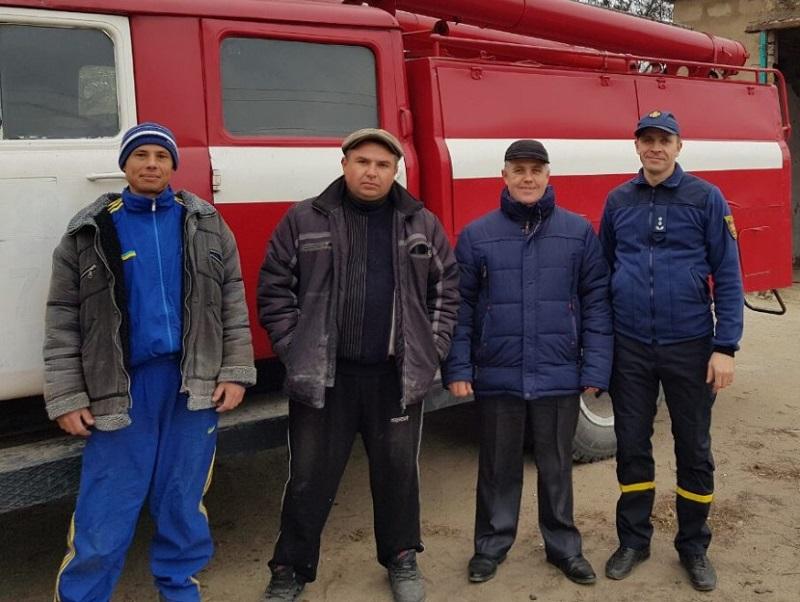 В Херсонской области создаётся местная пожарная охрана