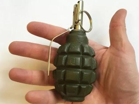 Жителю Херсонщины в качестве подарка досталась боевая граната